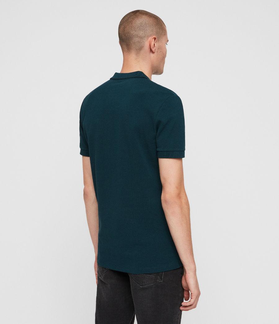 Men's Houston Polo Shirt (dawn_green) - Image 4
