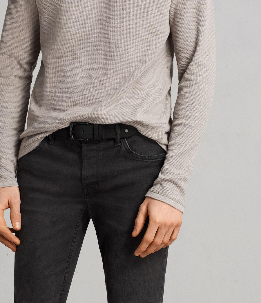 Uomo T-shirt Clash maniche lunghe (cement_grey) - Image 4