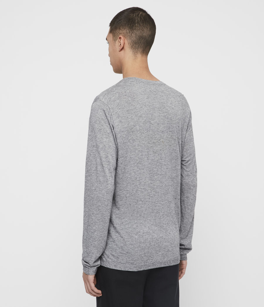 Men's Quinn Crew T-Shirt (grey_marl) - Image 5