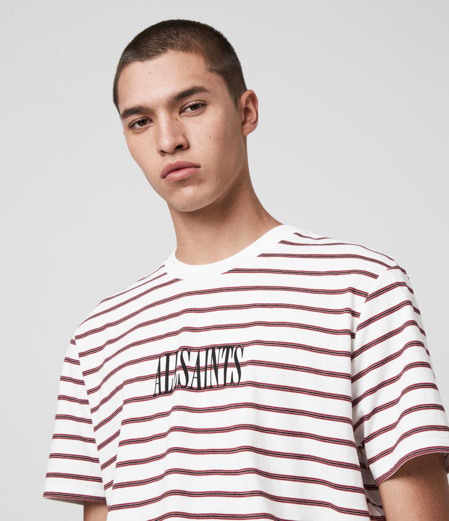 Hombres Harvest Crew T-Shirt (chalk_red_black) - Image 2