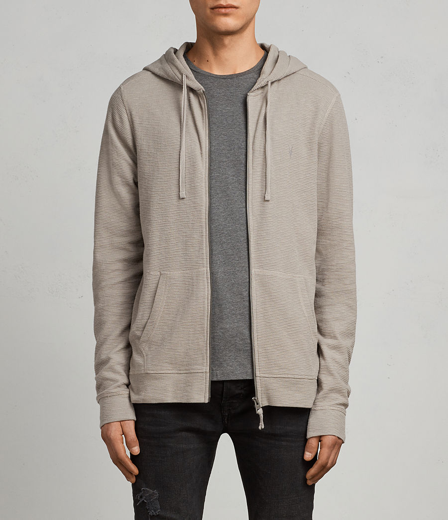 Mens Clash Hoodie (cement) - Image 1