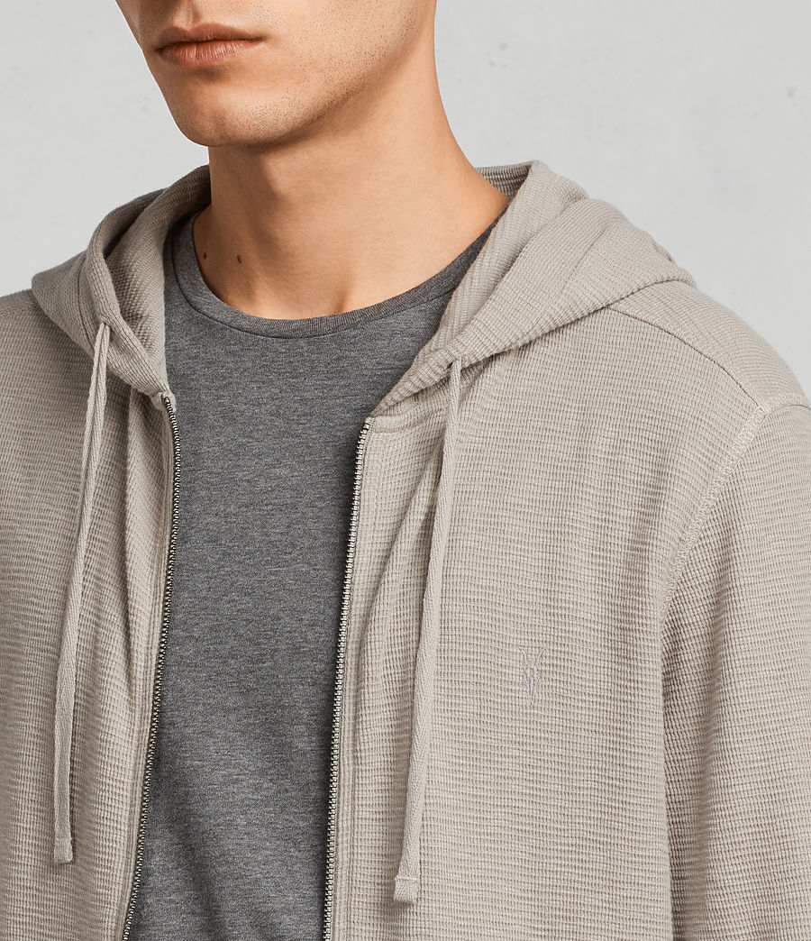 Mens Clash Hoodie (cement) - Image 2
