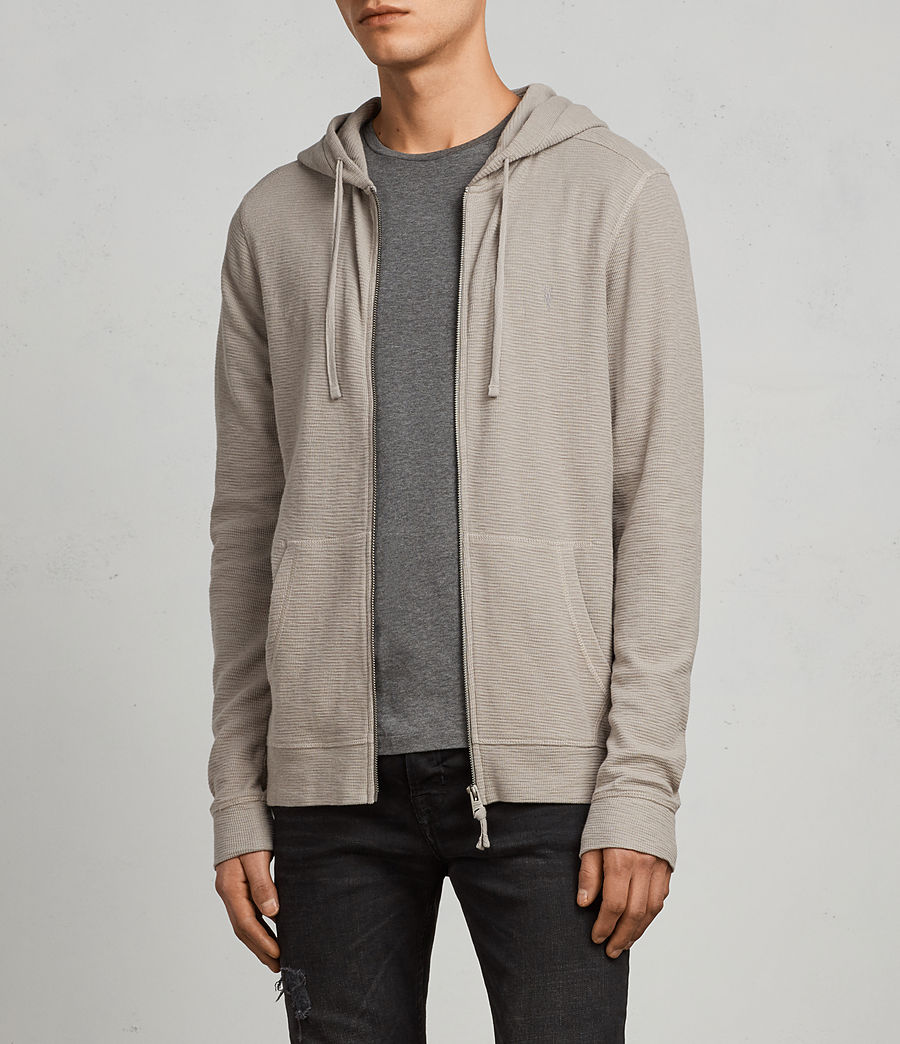 Mens Clash Hoodie (cement) - Image 3