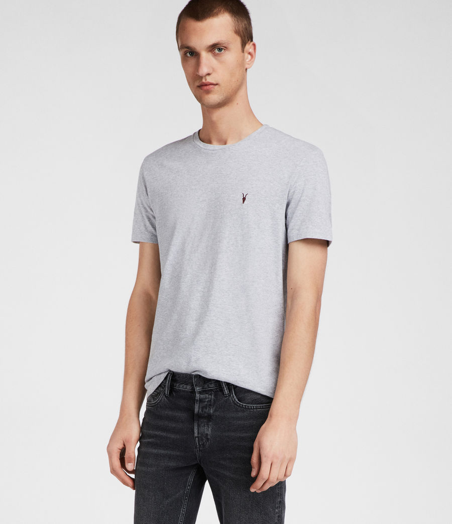 Men's Cradle Crew T-Shirt (grey_marl) - Image 3