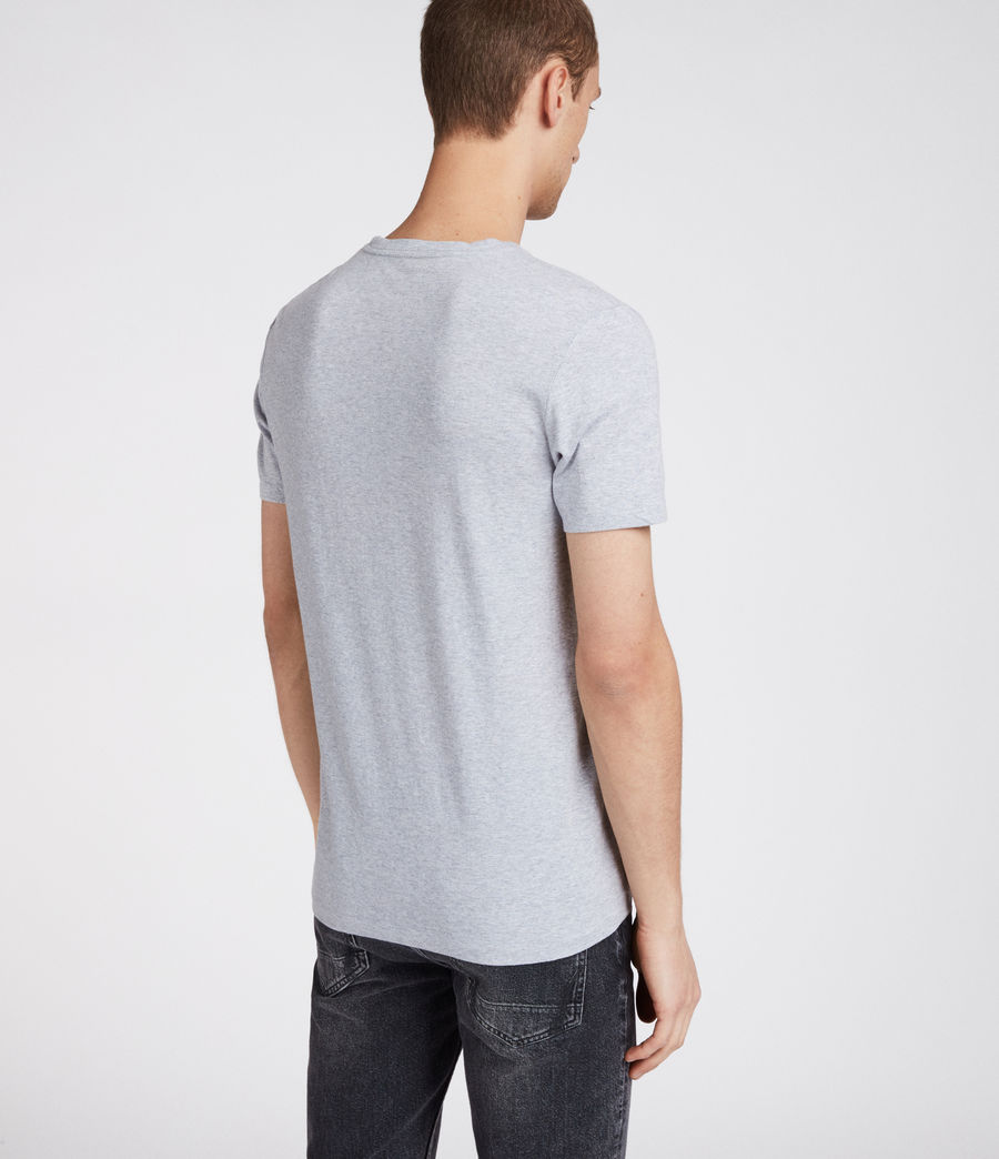 Men's Cradle Crew T-Shirt (grey_marl) - Image 4