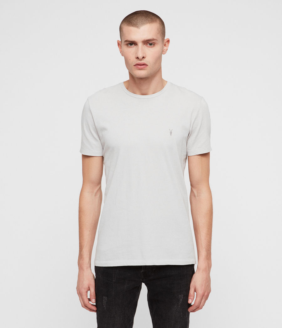 Uomo Cradle Crew T-Shirt (lunar_grey) - Image 1