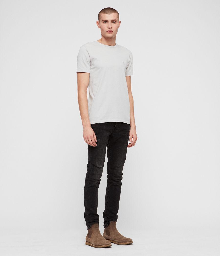 Hommes T-Shirt Cradle (lunar_grey) - Image 3