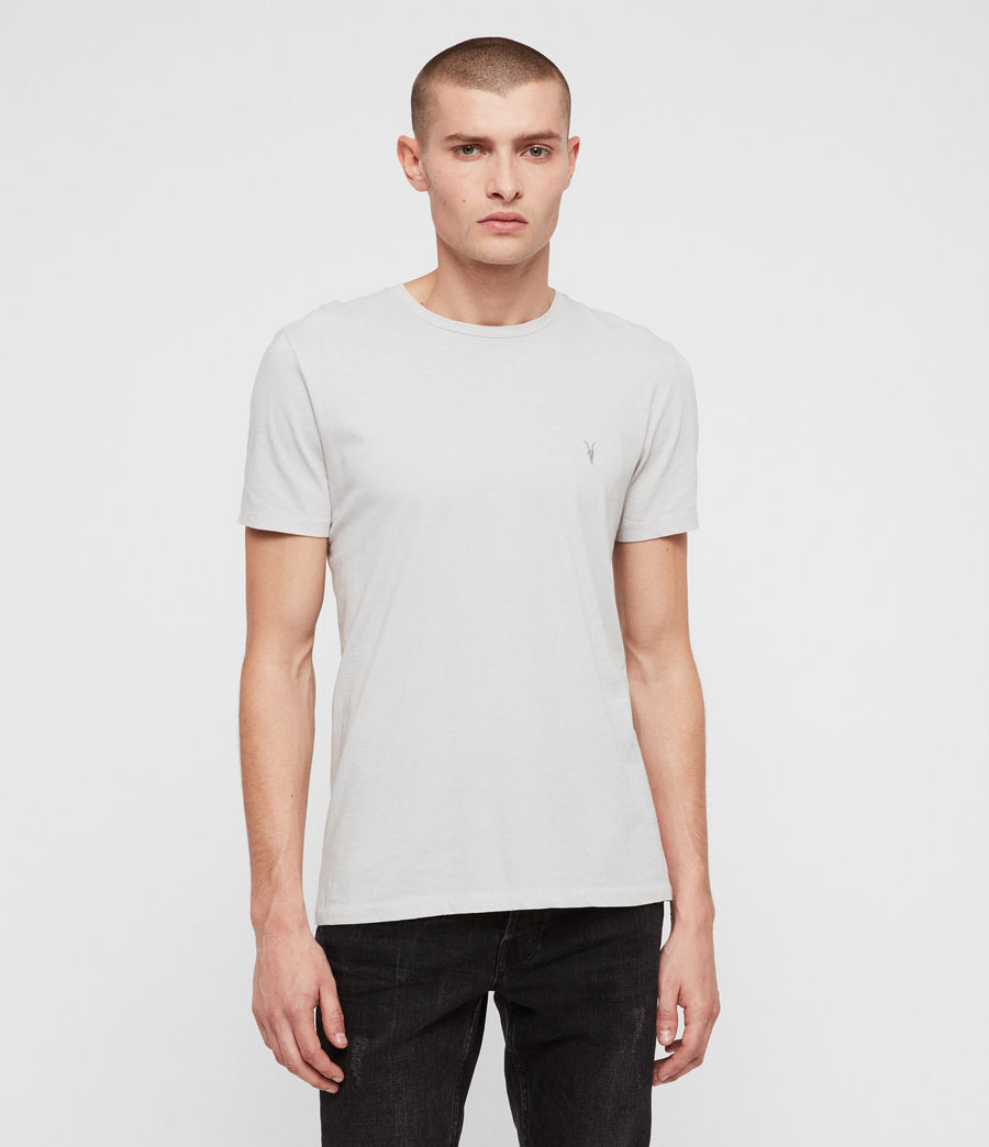 Men's Cradle Crew T-Shirt (lunar_grey) - Image 4