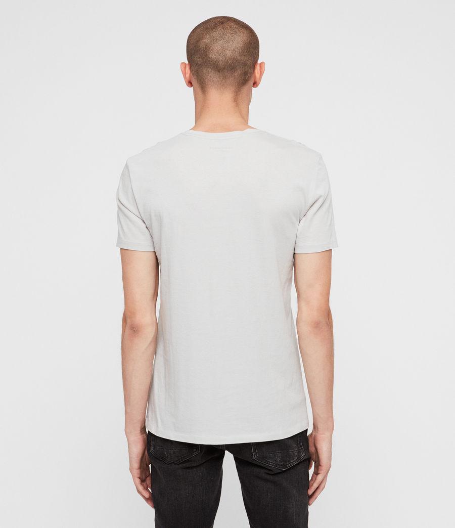 Hommes T-Shirt Cradle (lunar_grey) - Image 5
