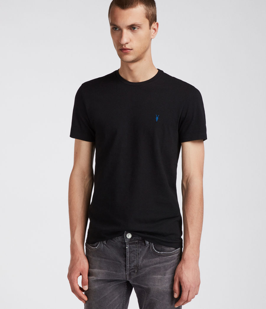 Men's Cradle Crew T-Shirt (jet_black) - Image 1