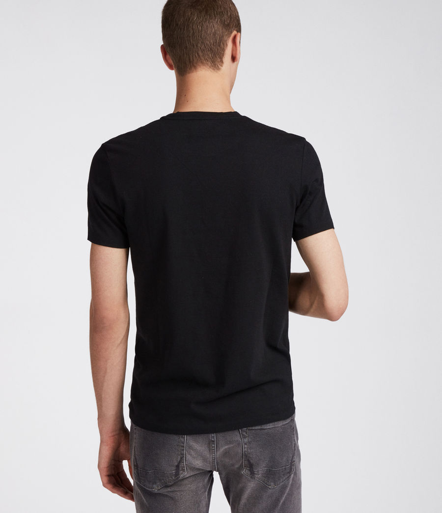 Mens Cradle Crew T-Shirt (jet_black) - Image 5