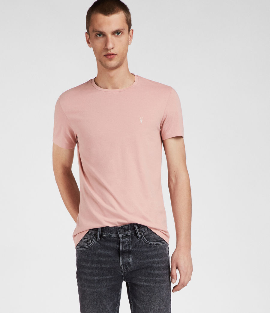 Men's Cradle Crew T-Shirt (crepe_pink) - Image 1