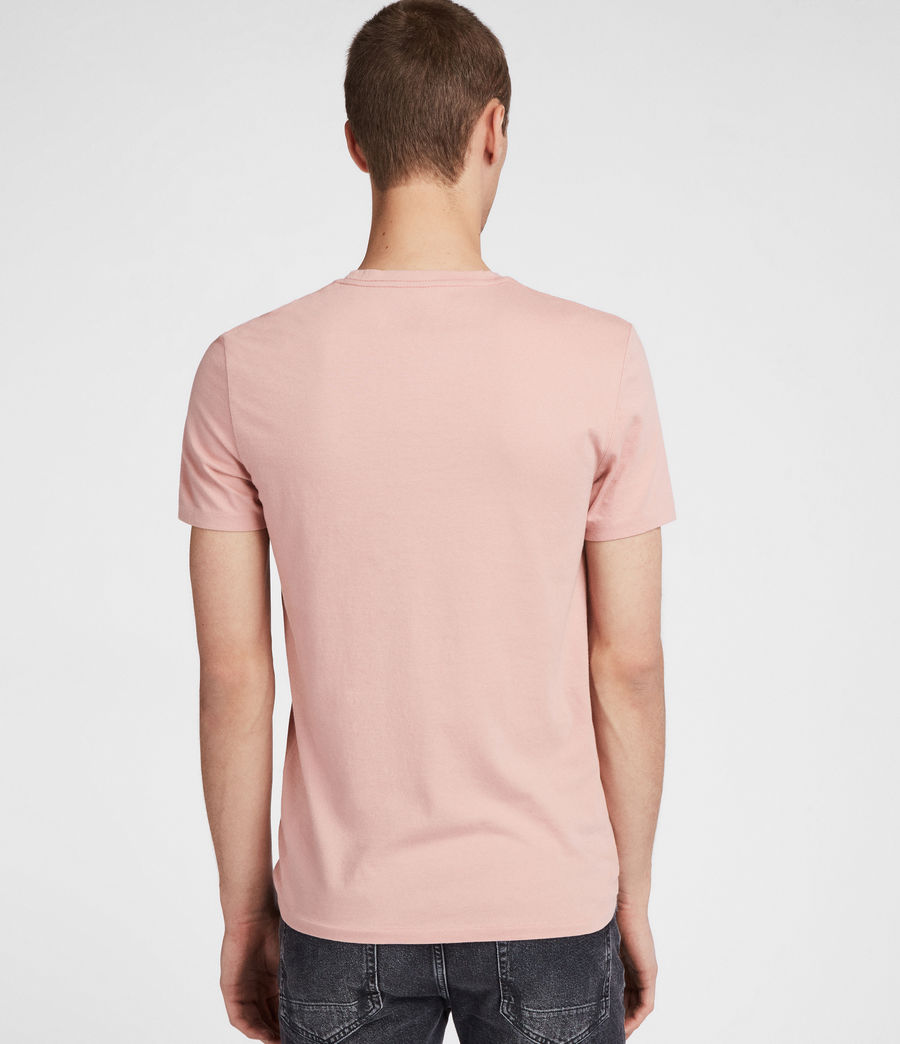 Hombres Camiseta Cradle (crepe_pink) - Image 4