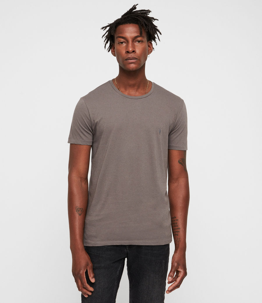 Men's Cradle Crew T-Shirt (core_grey) - Image 1