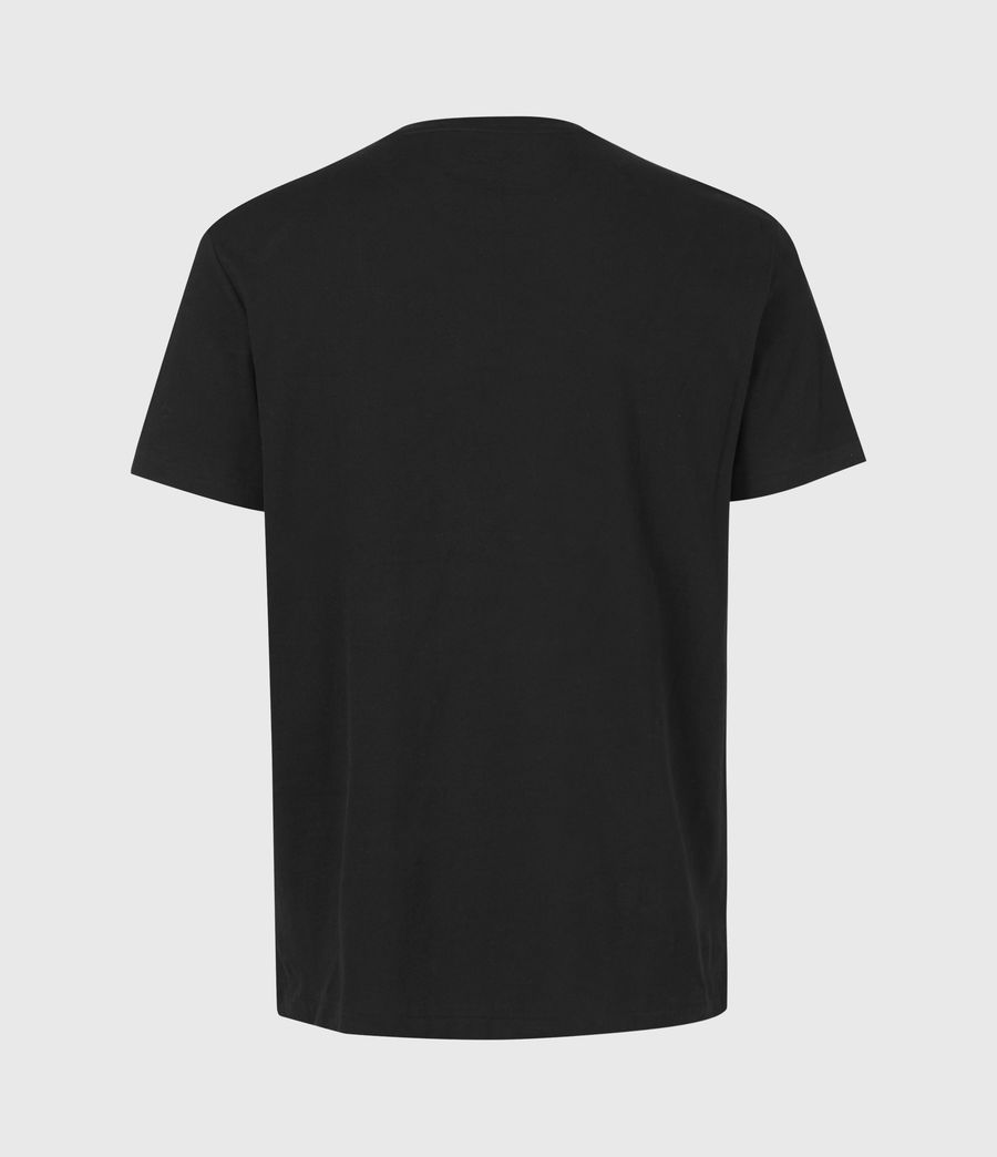 Mens Element Crew T-Shirt (jet_black) - Image 3