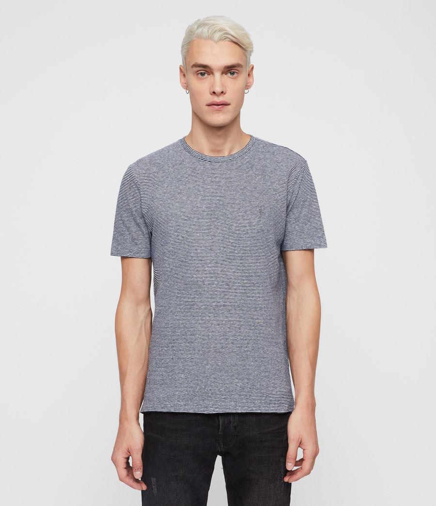 Hommes T-Shirt Tonic Lupa (white_blue) - Image 1