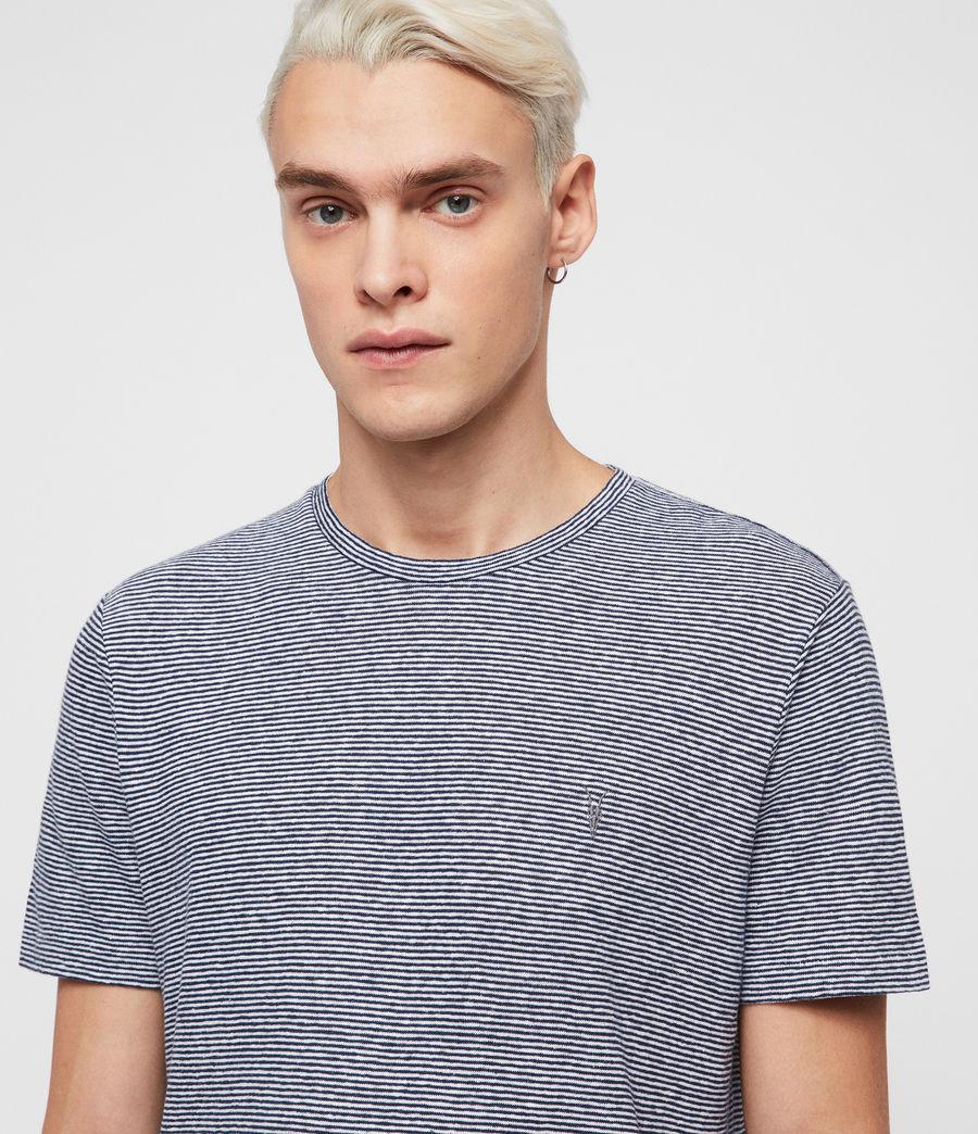 Hommes T-Shirt Tonic Lupa (white_blue) - Image 2