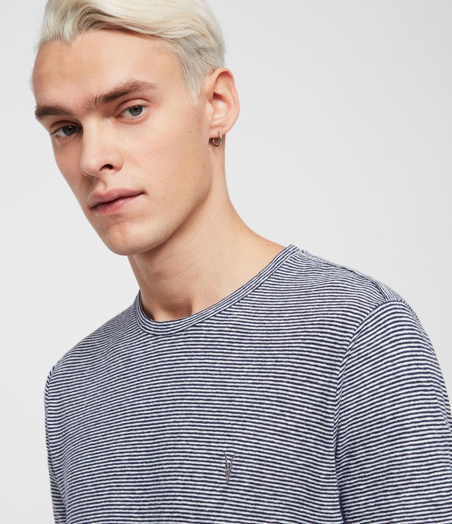 Hommes T-Shirt Tonic Lupa (white_blue) - Image 4