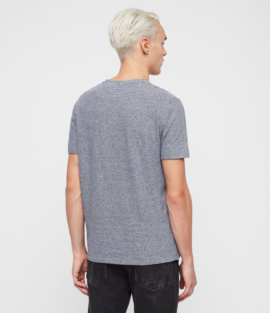 Herren Tonic Lupa T-Shirt (white_blue) - Image 5