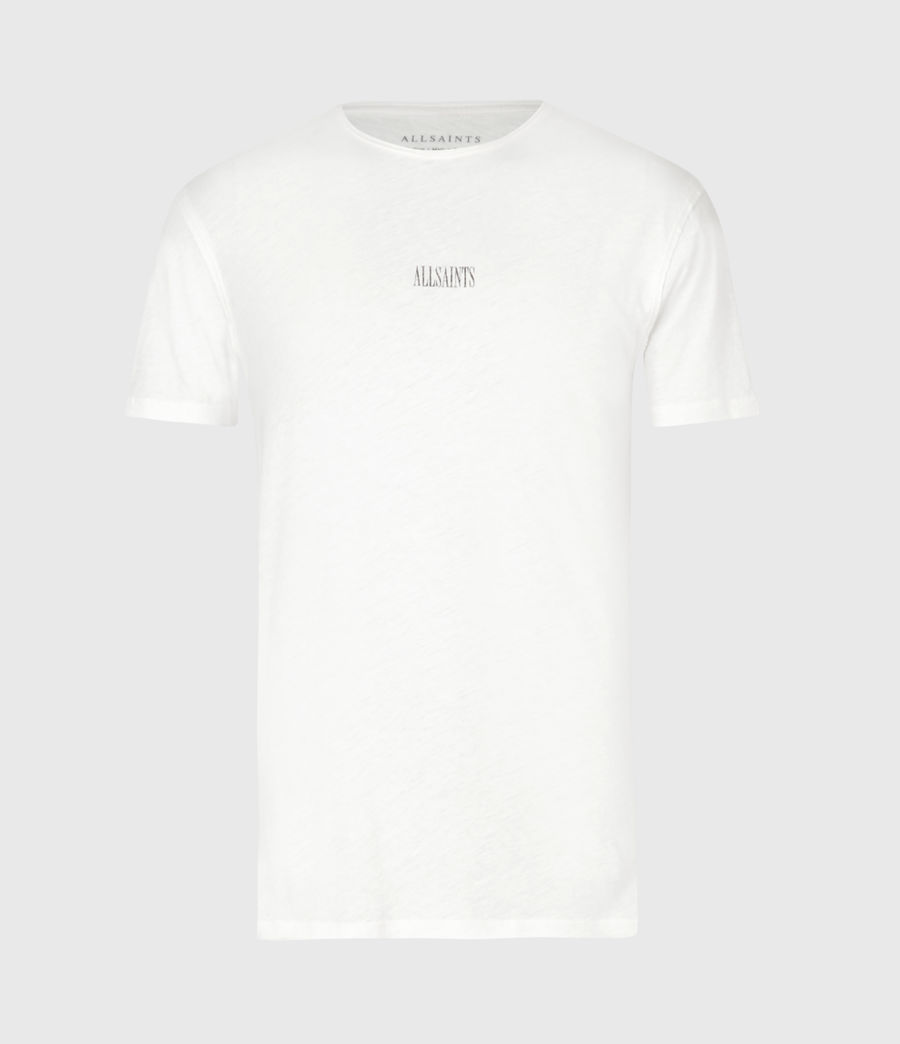 Mens State Figure Crew T-Shirt (chalk_white) - Image 2