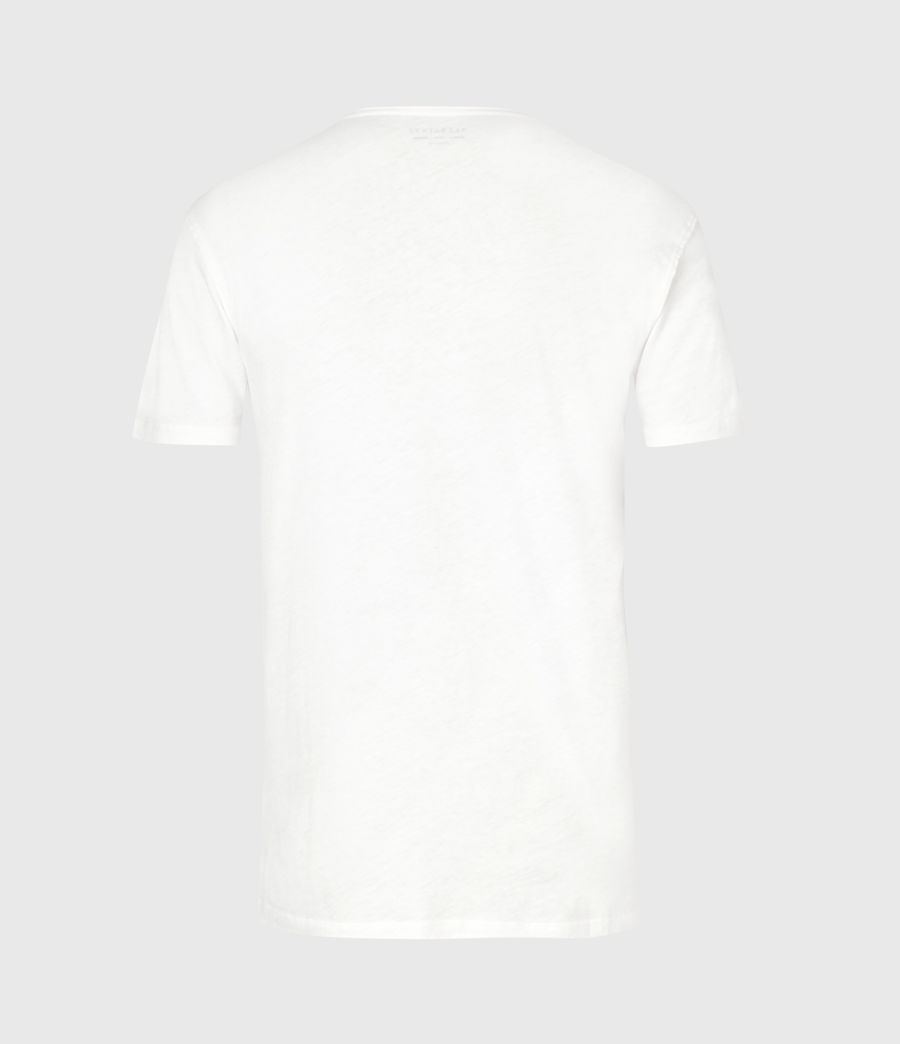 Mens State Figure Crew T-Shirt (chalk_white) - Image 3