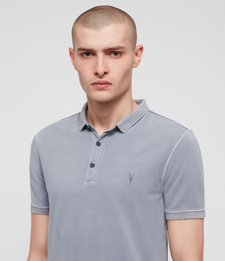 Mens Daste Polo Shirt (detroit_blue) - Image 2