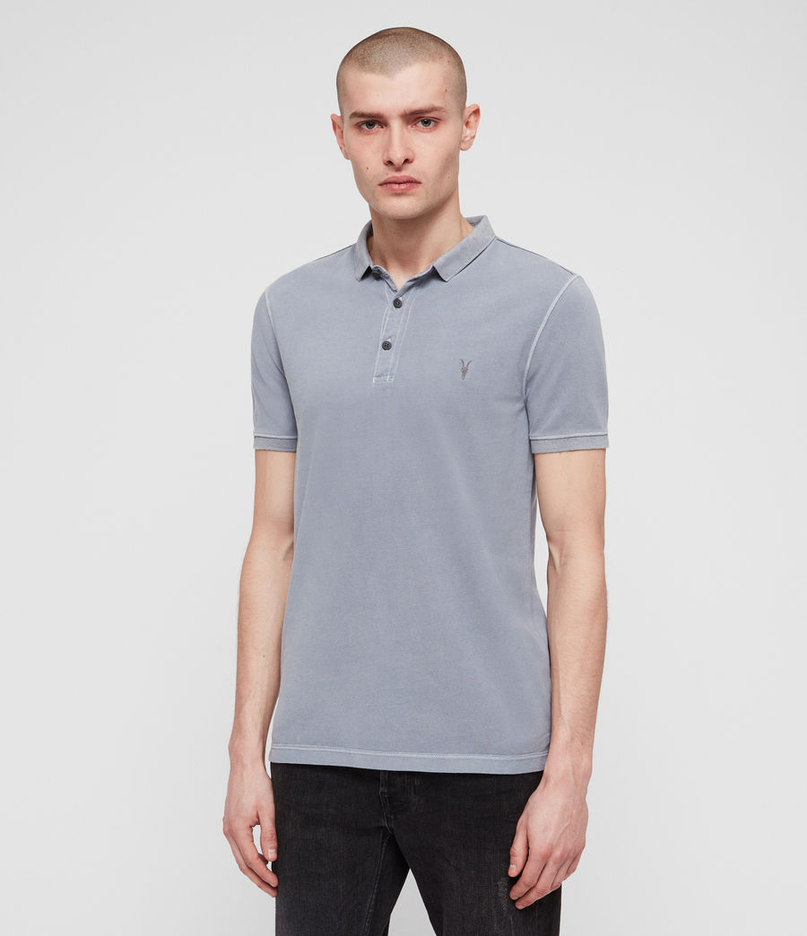 Mens Daste Polo Shirt (detroit_blue) - Image 4