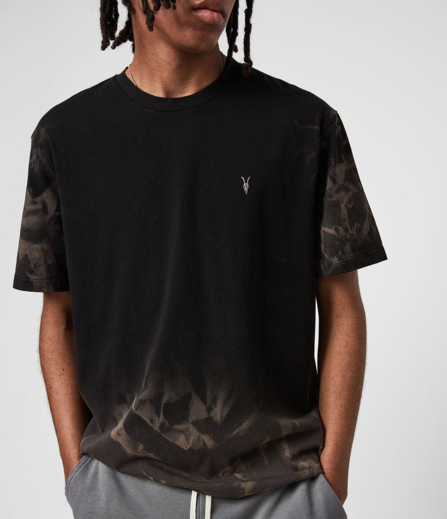 Mens Reznor Crew T-Shirt (jet_black) - Image 4