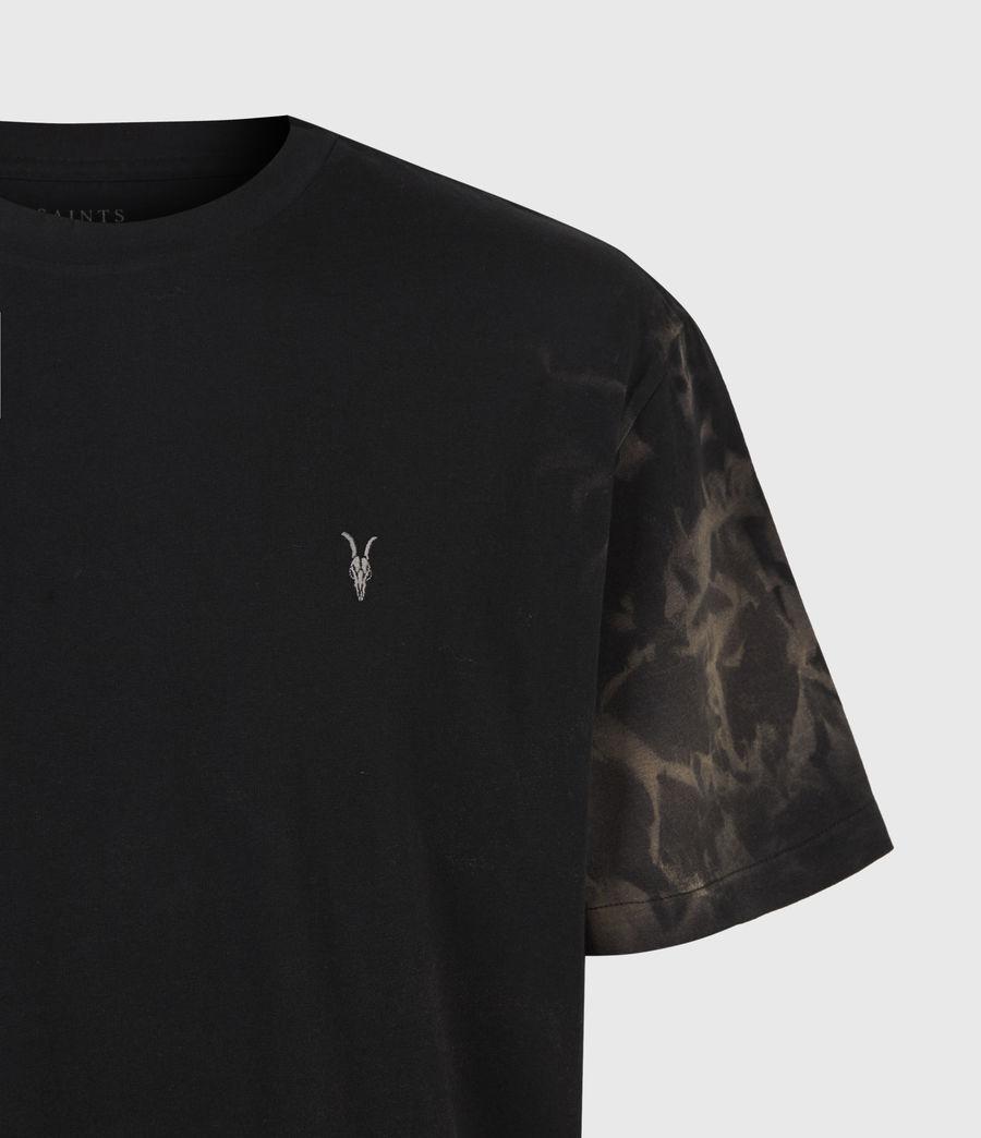 Mens Reznor Crew T-Shirt (jet_black) - Image 5