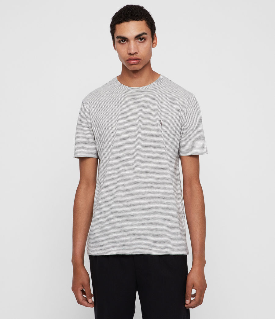 Mens Tonic Cohen Crew T-Shirt (chalk_black) - Image 1