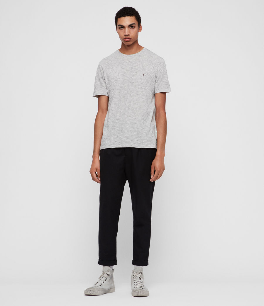 Men's Tonic Cohen Crew T-Shirt (chalk_black) - Image 3