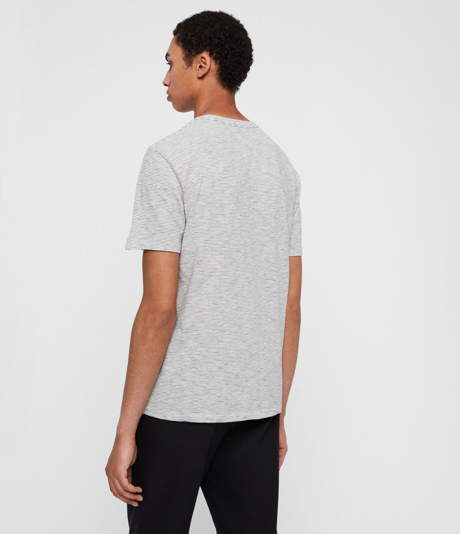 Men's Tonic Cohen Crew T-Shirt (chalk_black) - Image 5