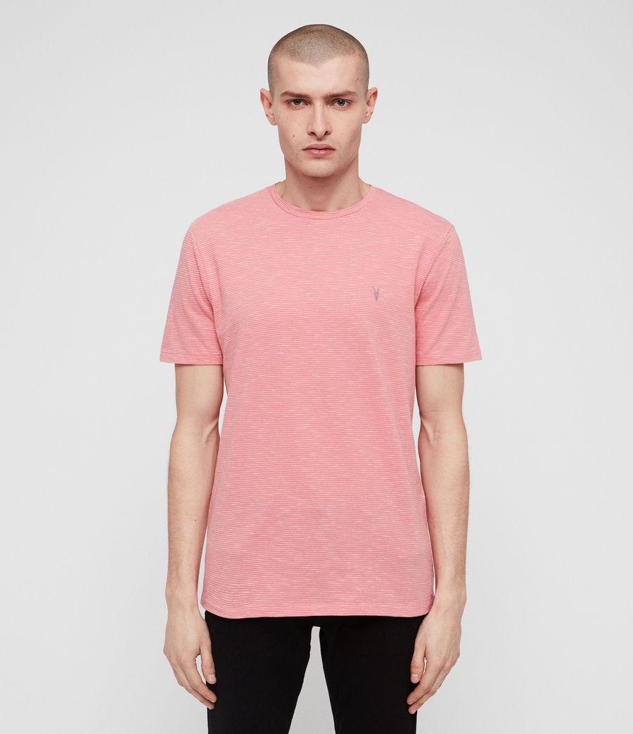 Mens Tonic Cohen Crew T-Shirt (sorbet_pink_white) - Image 1