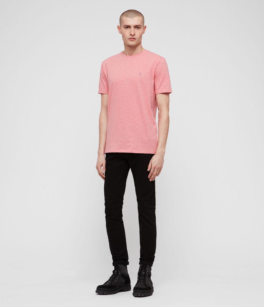 Mens Tonic Cohen Crew T-Shirt (sorbet_pink_white) - Image 3