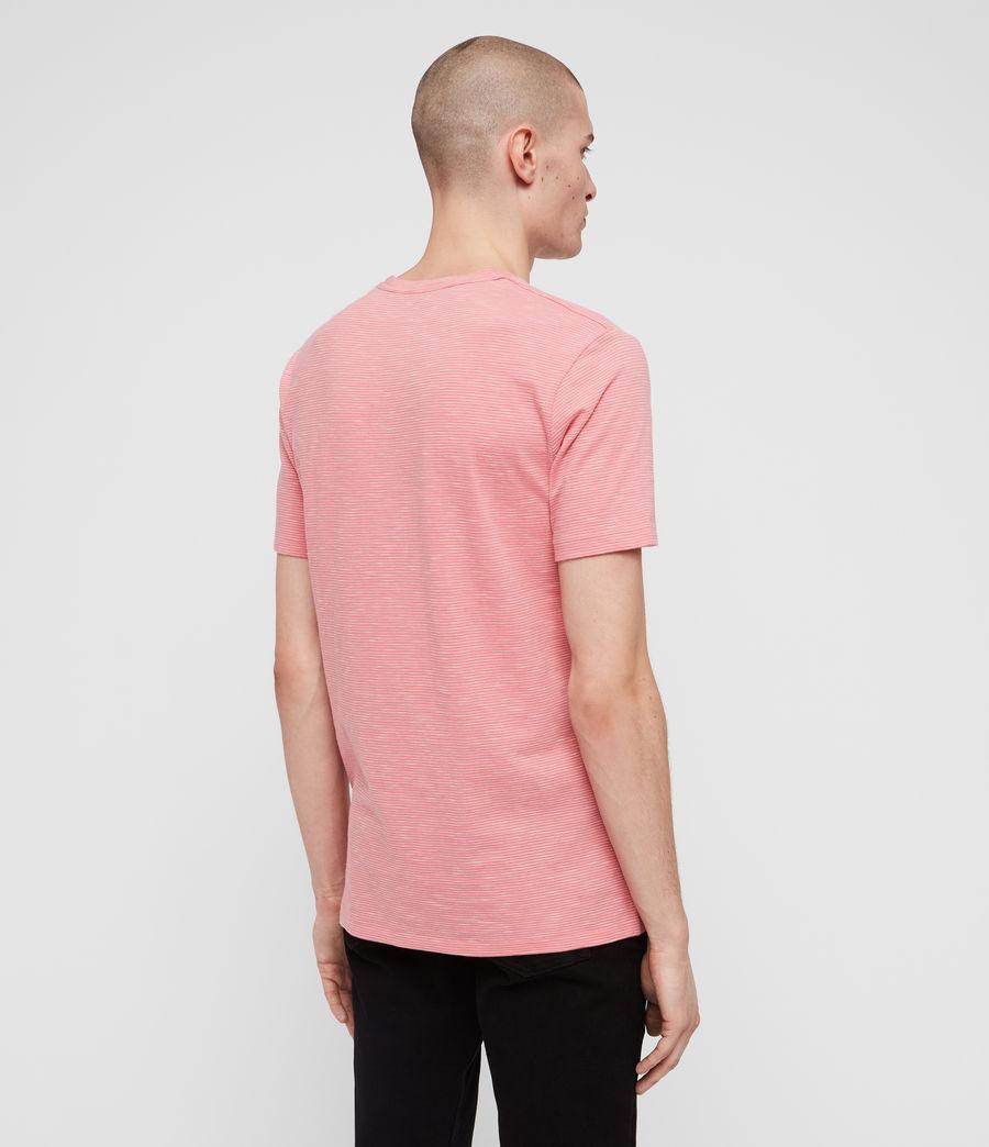 Mens Tonic Cohen Crew T-Shirt (sorbet_pink_white) - Image 4