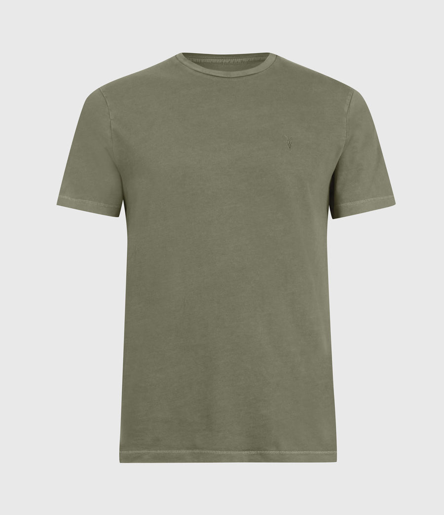 Mens Ossage Crew T-Shirt (wild_olive_green) - Image 2