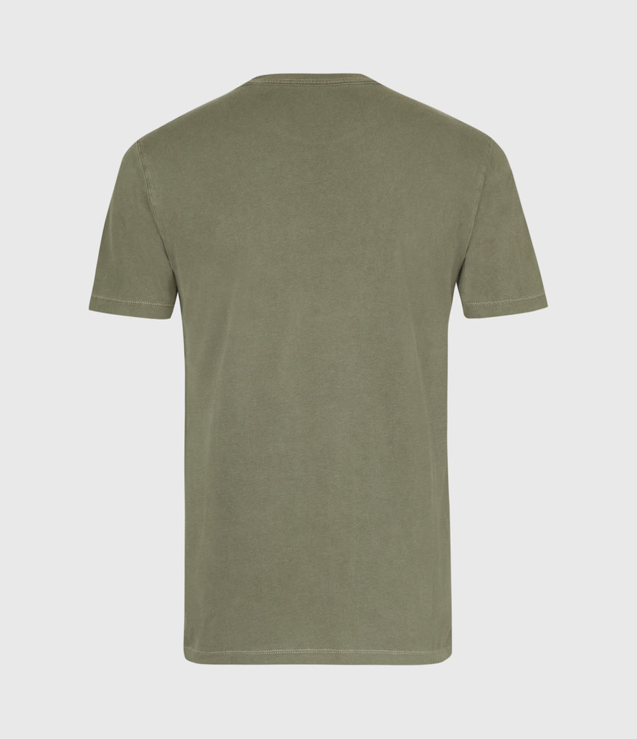 Mens Ossage Crew T-Shirt (wild_olive_green) - Image 3