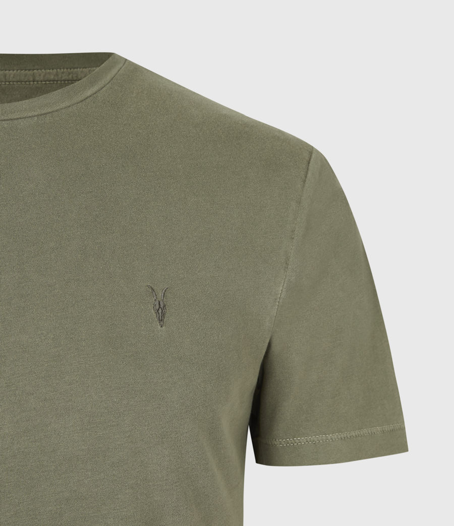 Mens Ossage Crew T-Shirt (wild_olive_green) - Image 5