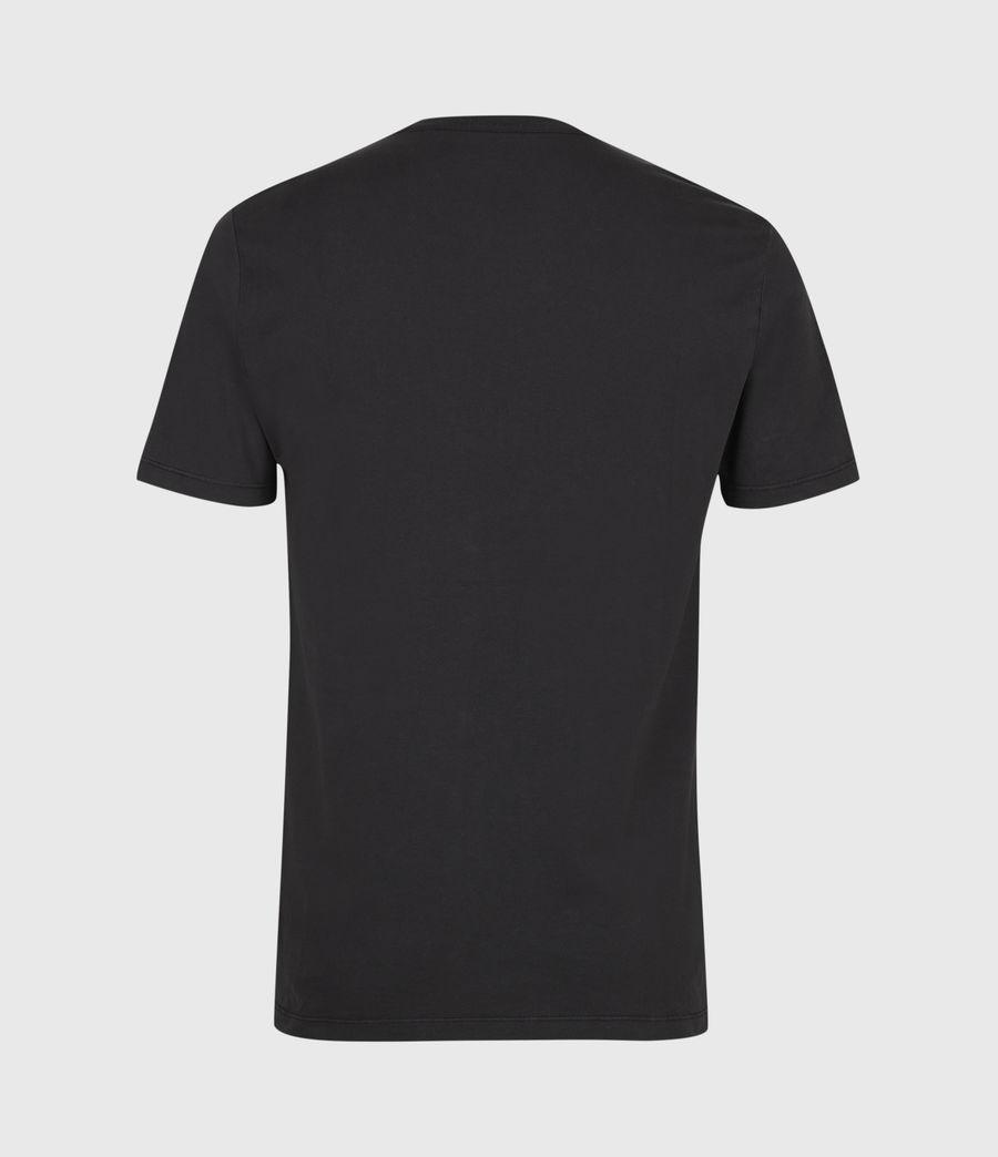 Men's Ossage Crew T-Shirt (soot_black_marl) - Image 3