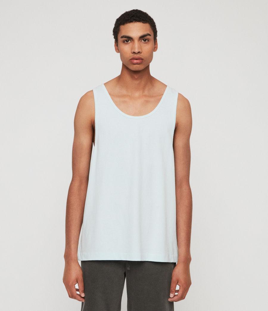 Men's Lambert Vest (neon_aqua_blue) - Image 1