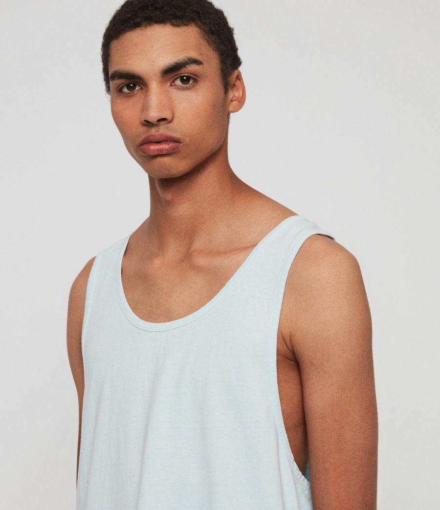 Men's Lambert Vest (neon_aqua_blue) - Image 2