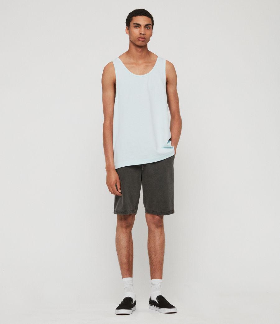 Men's Lambert Vest (neon_aqua_blue) - Image 3