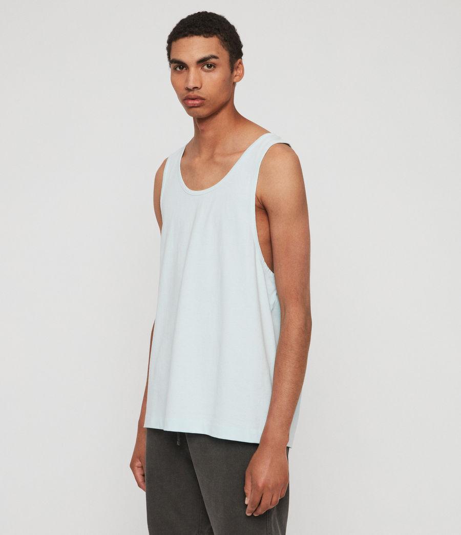 Men's Lambert Vest (neon_aqua_blue) - Image 4