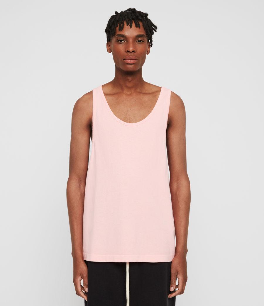 Hombres Camiseta de Tirantes Lambert (neon_coral_pink) - Image 1