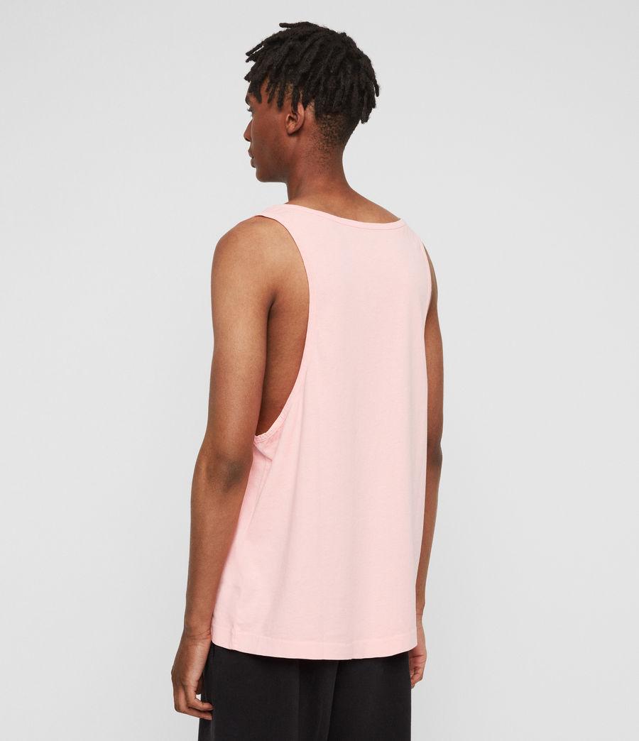 Hombres Camiseta de Tirantes Lambert (neon_coral_pink) - Image 4