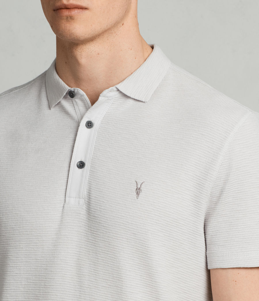 Hommes Polo Clash (light_grey) - Image 2