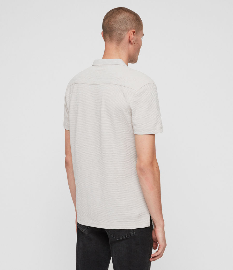 Men's Clash Polo Shirt (lunar_grey) - Image 5