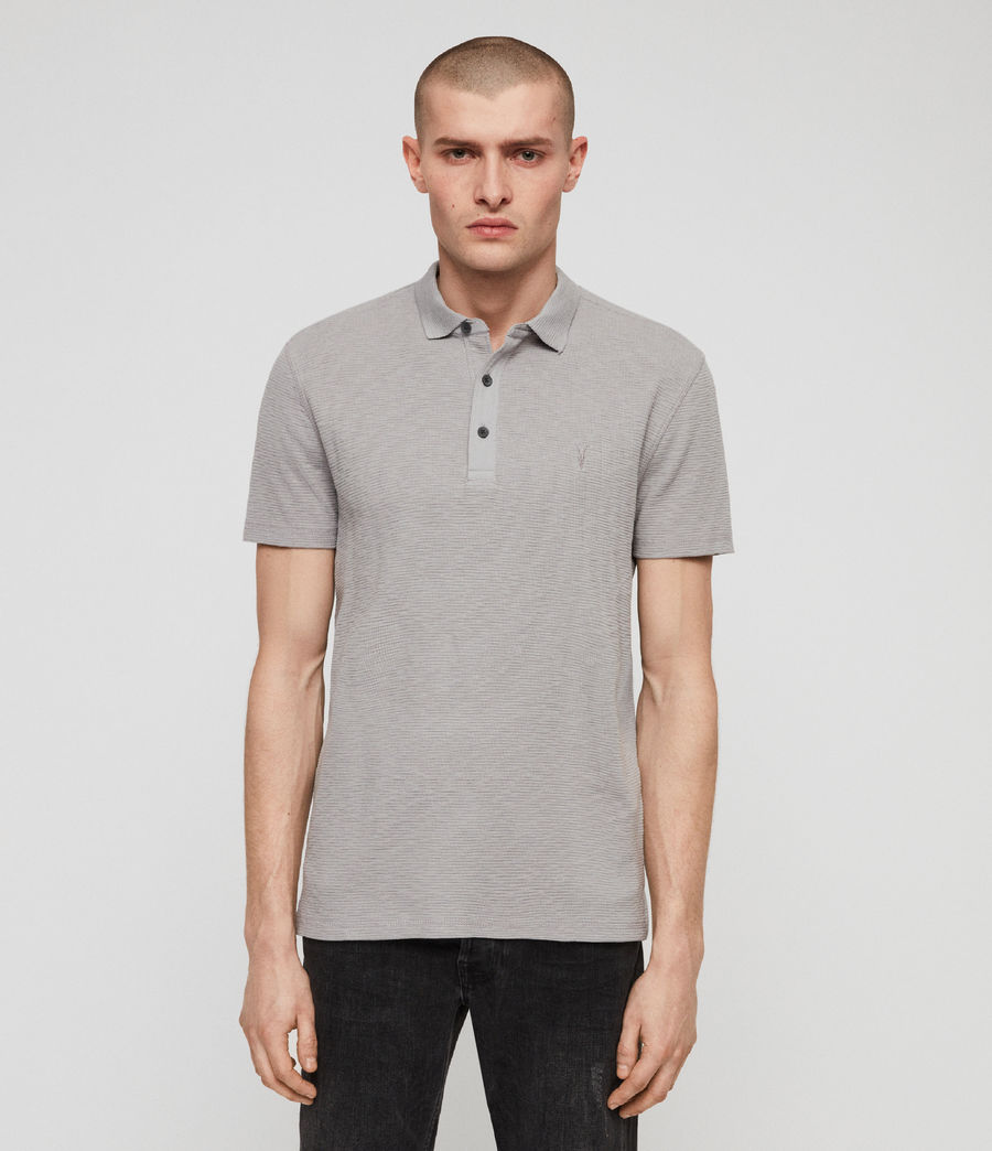 Men's Clash Polo Shirt (space_blue) - Image 1