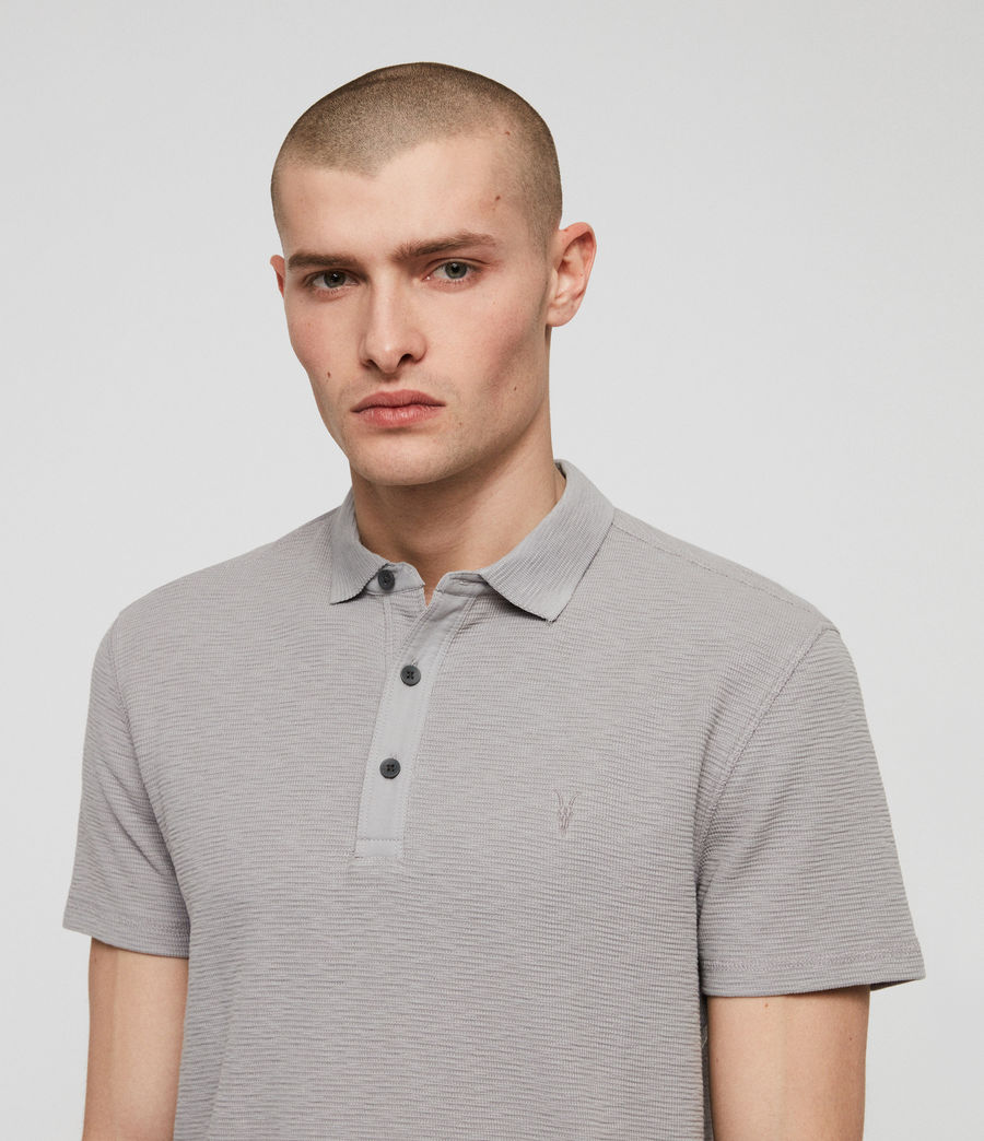 Men's Clash Polo Shirt (space_blue) - Image 2