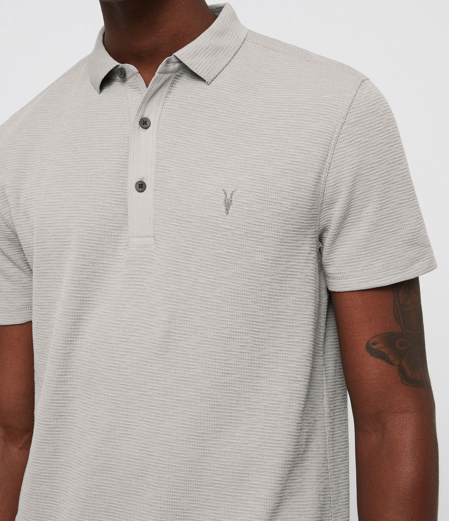 Men's Clash Polo Shirt (tin_grey) - Image 2